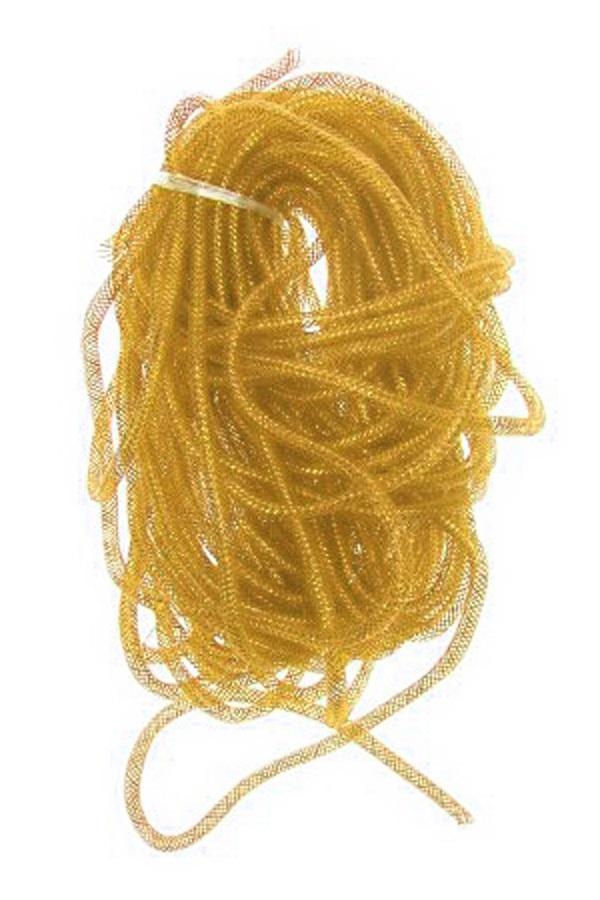 Decoratie tube goud Ø10 mm per 2,5 meter in zakje 1