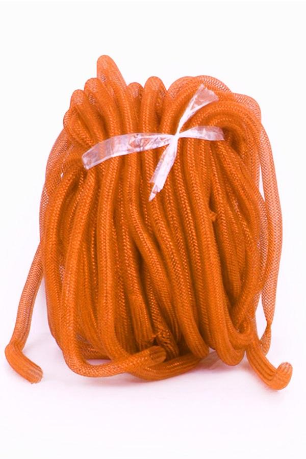 Decoratie tube oranje Ø16 mm per 2,5 meter in zakje 1