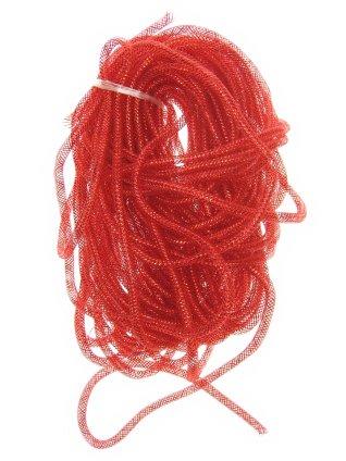 Decoslang tube op rol rood Ø 10 mm 1