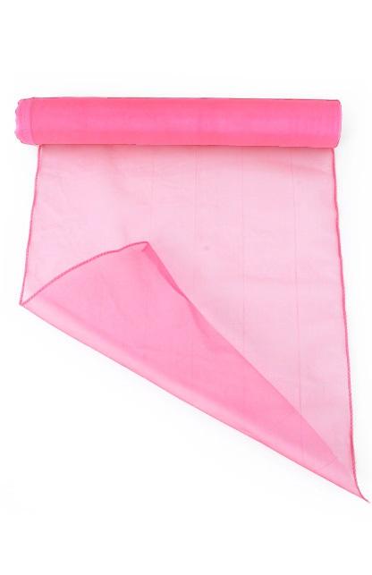 Organza baby pink 32 cm x 9 meter 1