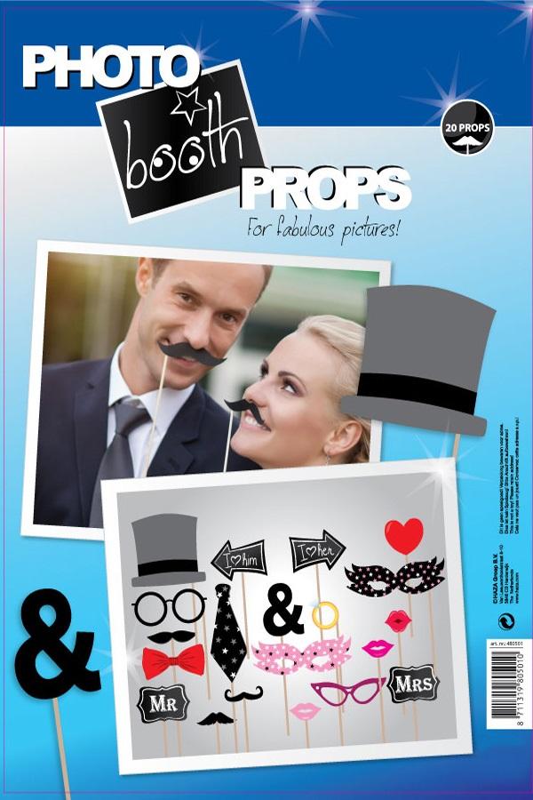 Photo booth props huwelijk 1
