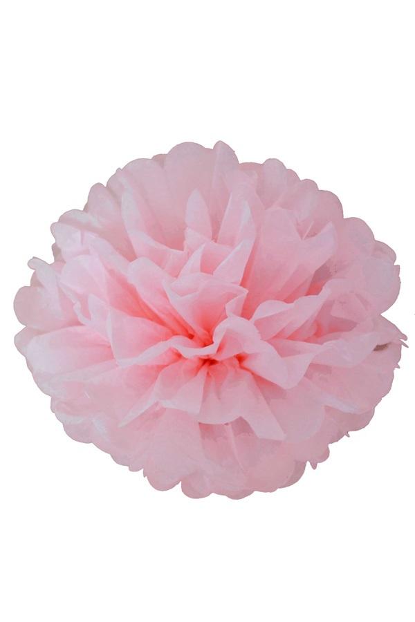 Pompoms baby roze 25/35 cm