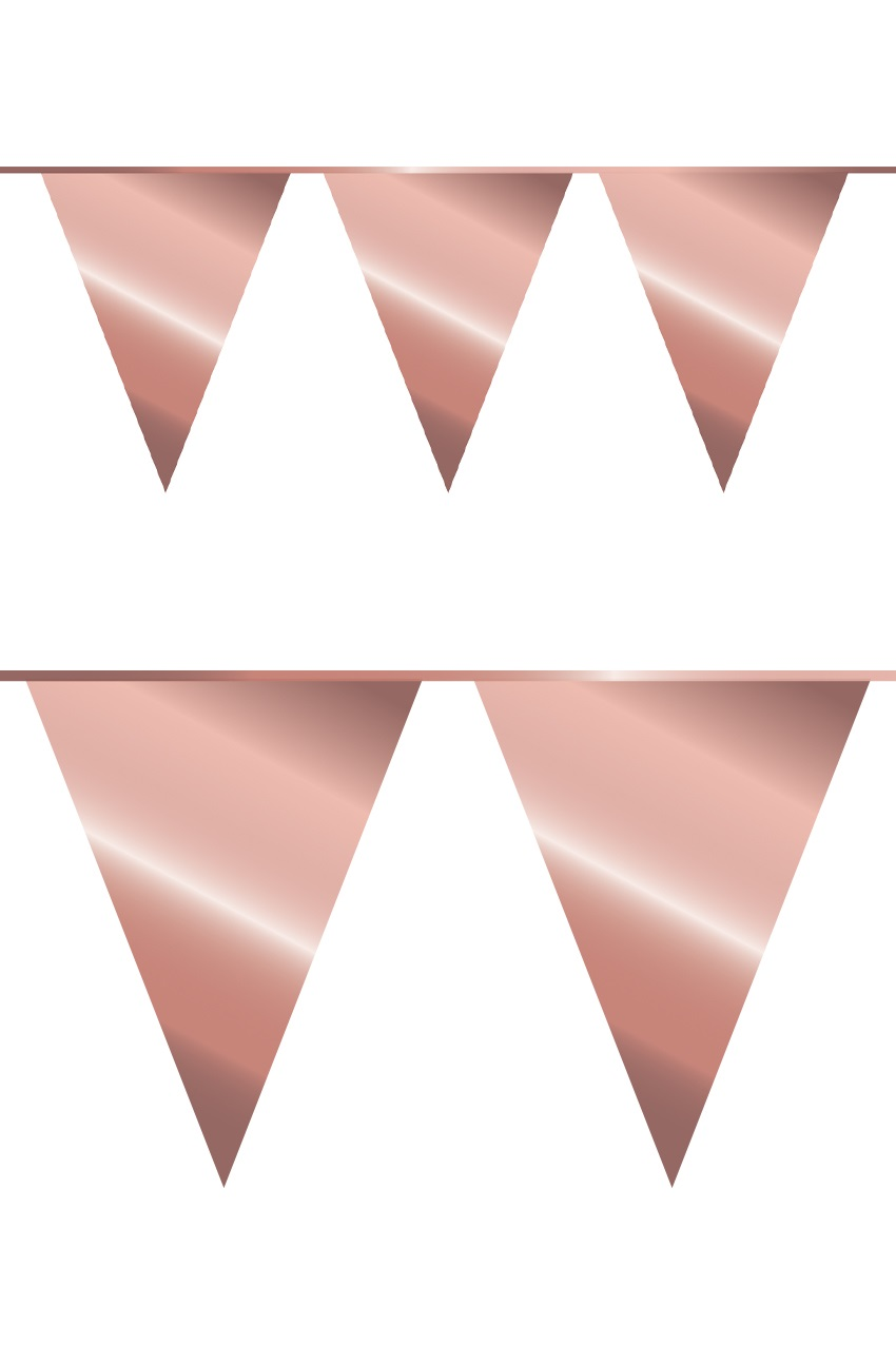 Vlaggenlijn rosé goud 10 m 1