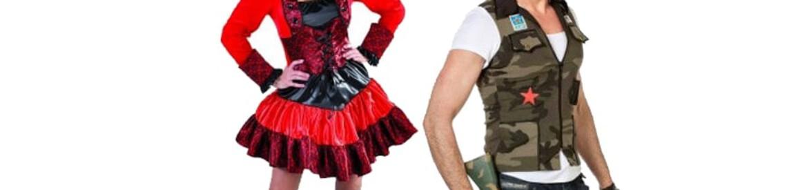 Carnavalskleding voor dames en heren, de trends van 2020