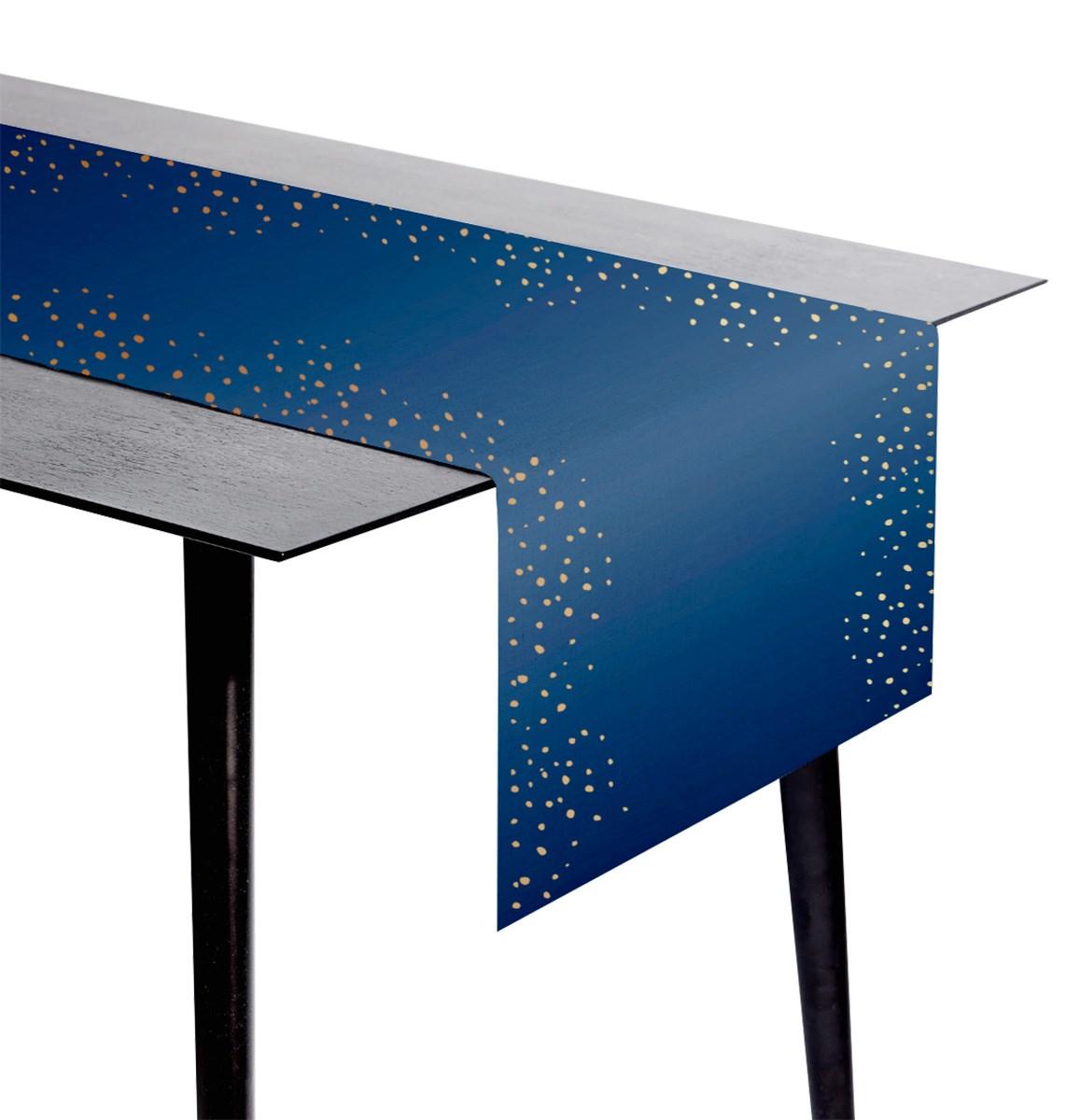Table runner Elegant True Blue 1