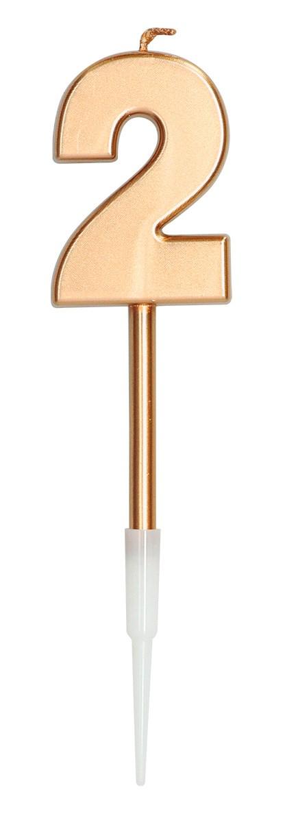 Candle Bronze Metallic 2 1