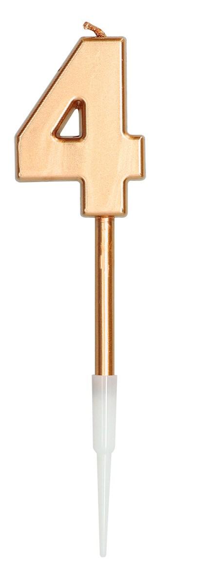 Candle Bronze Metallic 4 1