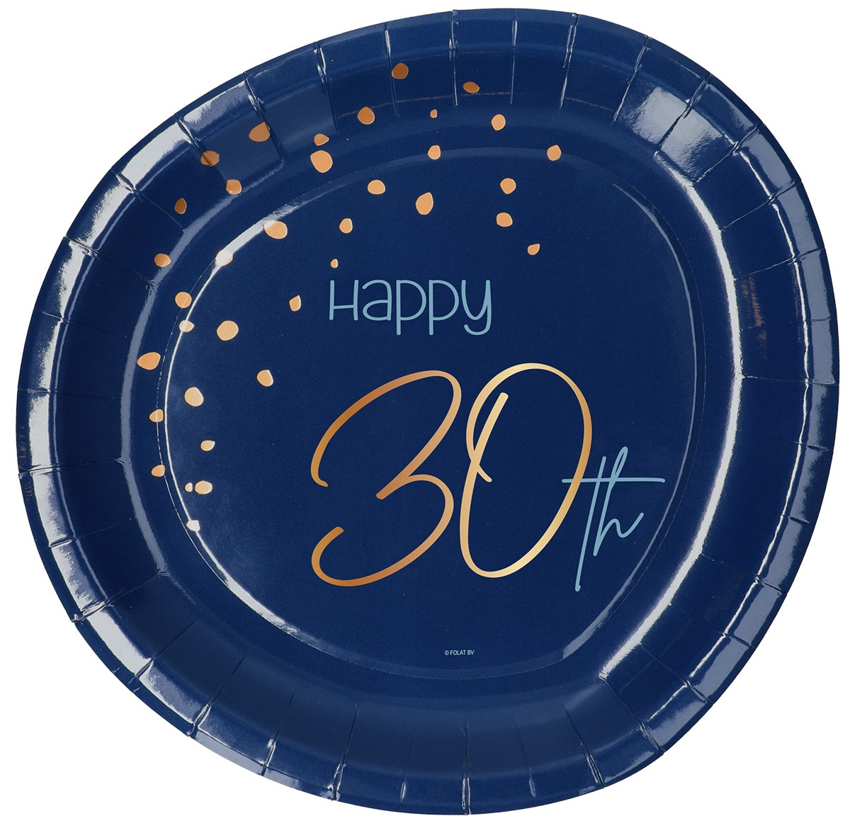 Plates Elegant True Blue 30 Year 23cm /8 1