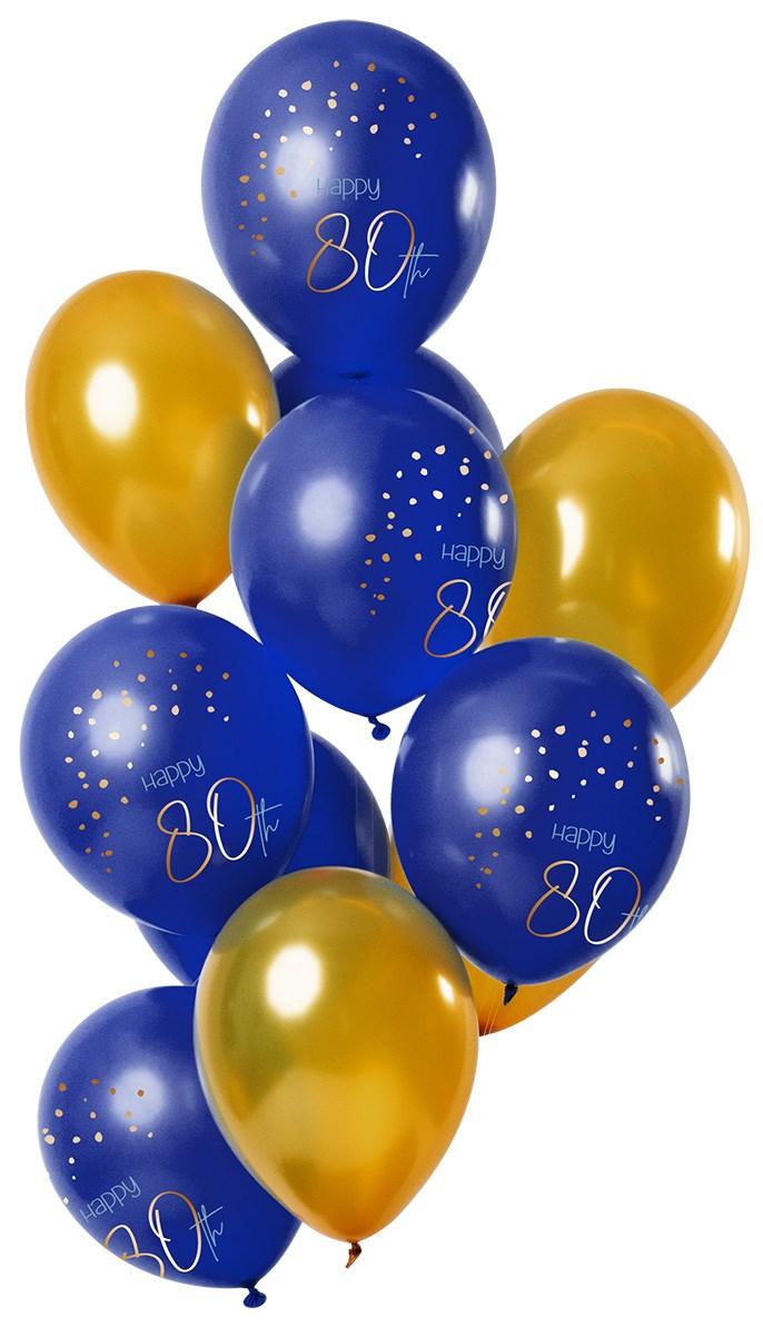 Fltx 12in/30cm Elegant True Blue 80 Year /12 1