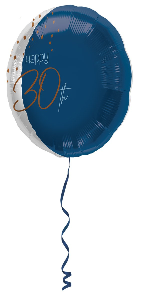 18in/45cm transparent/elegant true blue 30 1