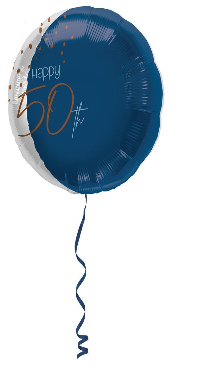 18in/45cm transparent/elegant true blue 50 1