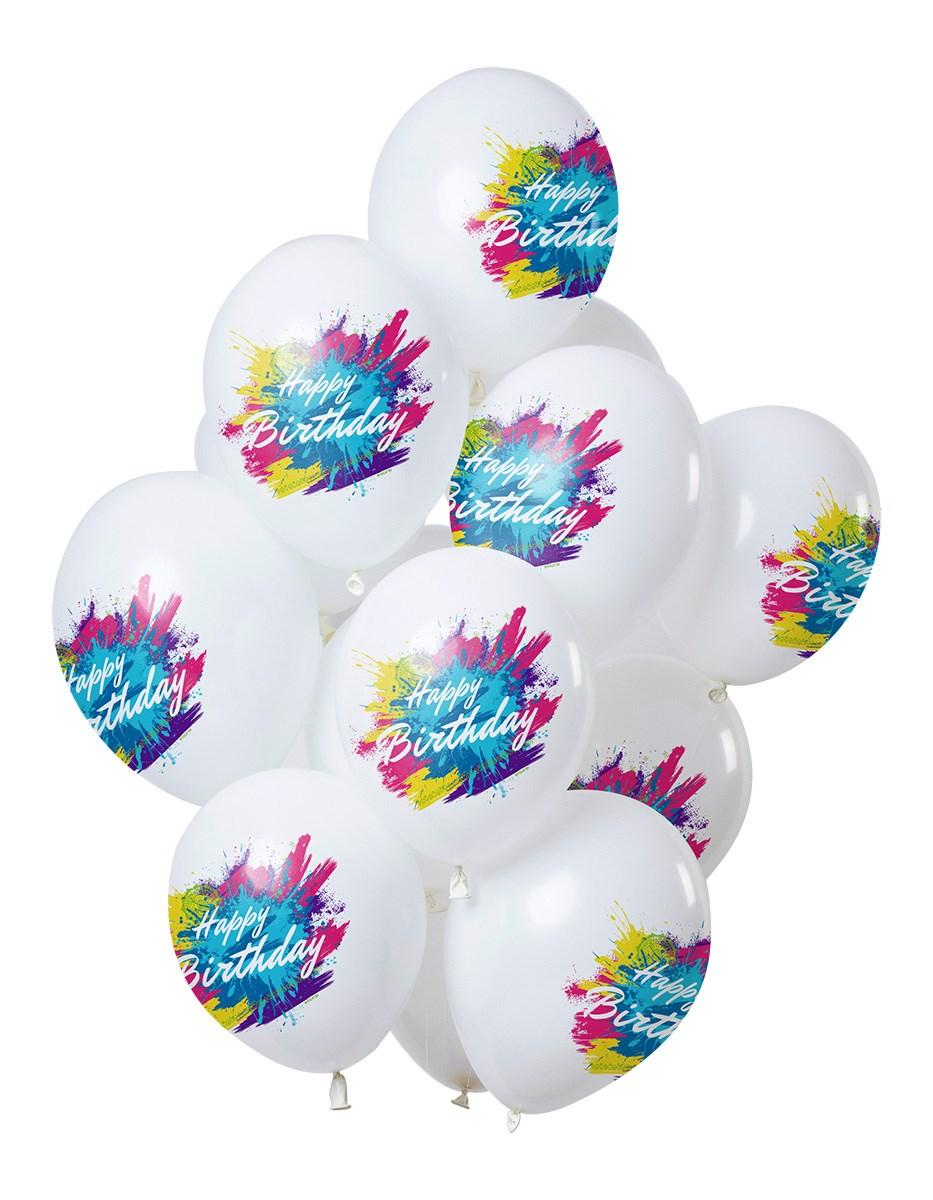 Fltx 12In/30cm Happy Birthday /12 1
