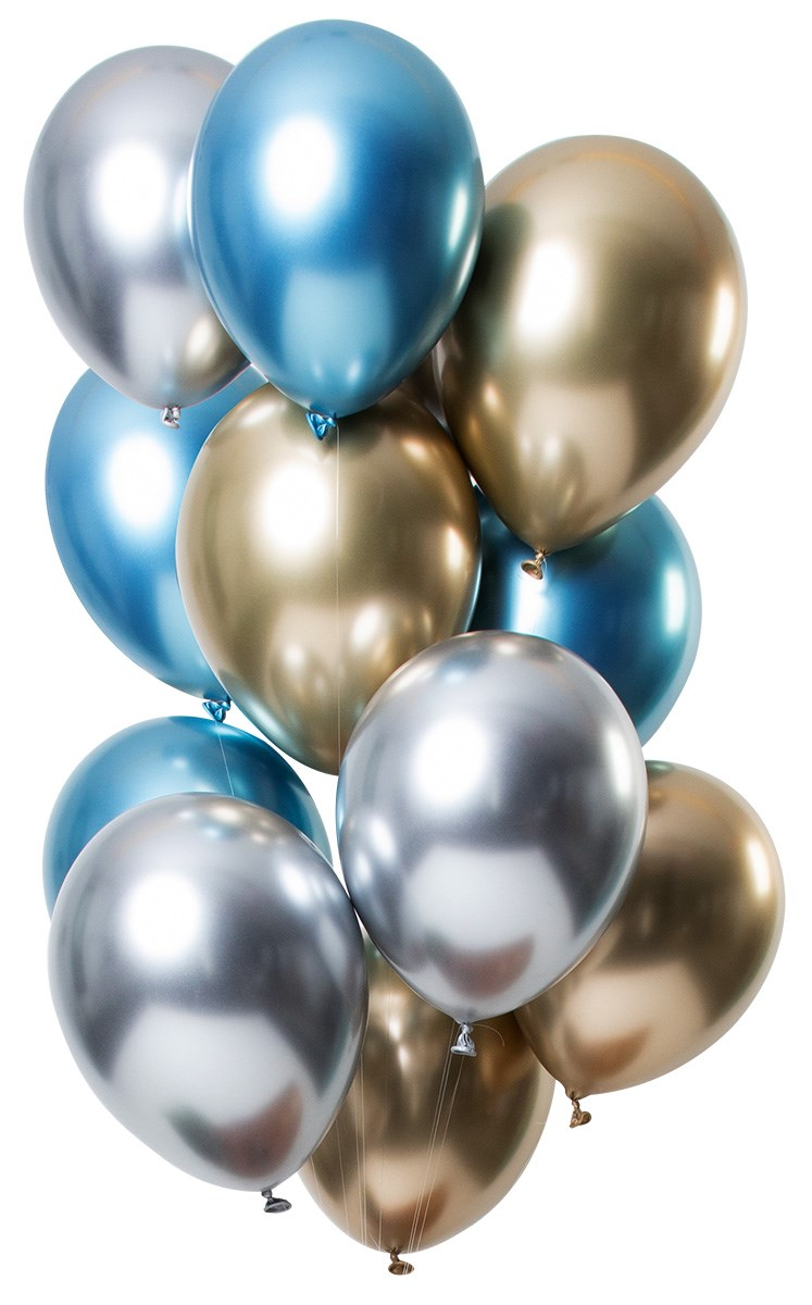 Fltx 13In/33cm Let it Shine Silver Bleu Antracite /12 1