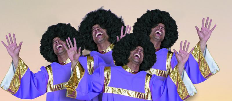 carnavalskleding groep gospel